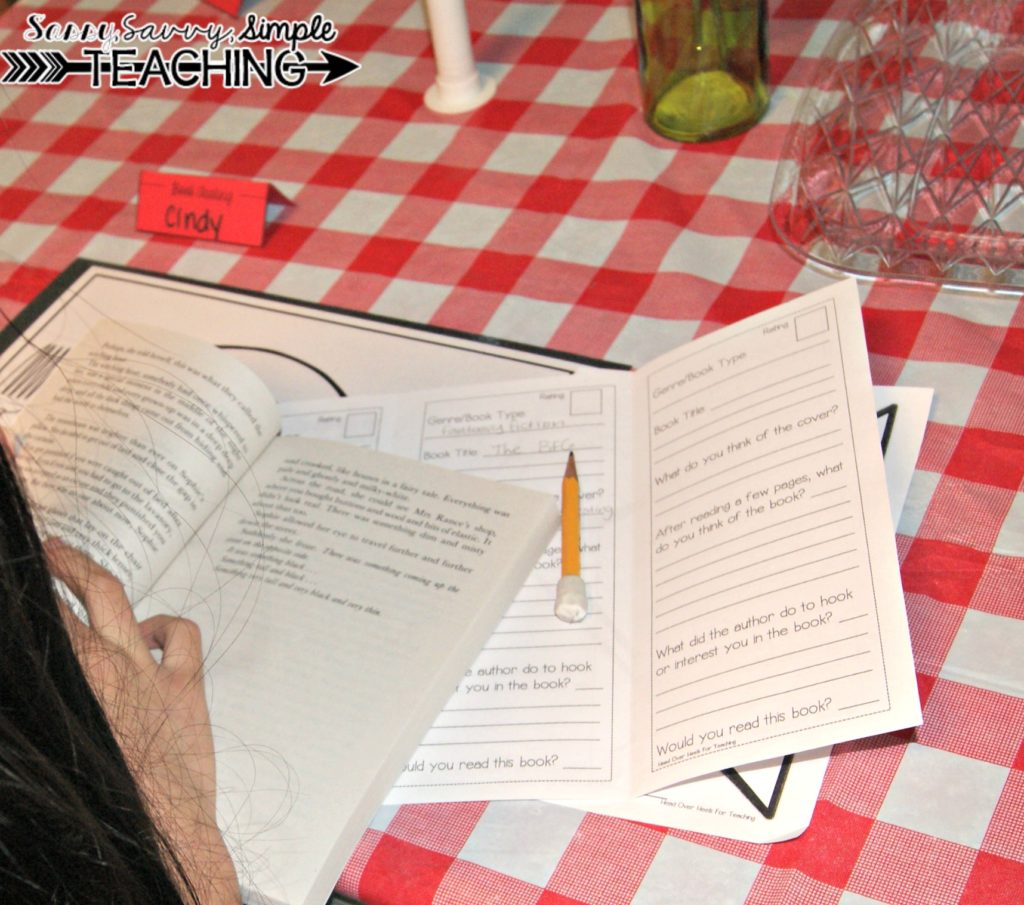 Host a Book Tasting! - Sassy Savvy Simple Teaching