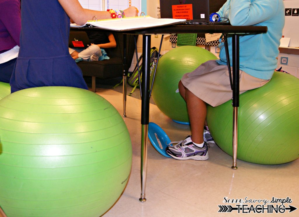 Flexible Seating Classroom Sassy Savvy Simple Teaching