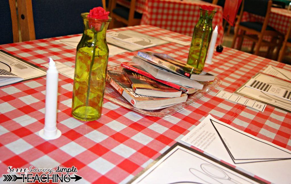 Host a Book Tasting! - Sassy Savvy Simple Teaching